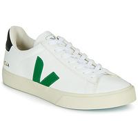 Schuhe Sneaker Low Veja CAMPO Weiss / Grün / Schwarz