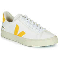 Schuhe Sneaker Low Veja CAMPO Weiss / Gelb