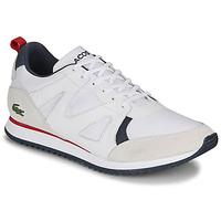 Schuhe Herren Sneaker Low Lacoste AESTHET 120 2 SMA Weiss / Blau / Rot