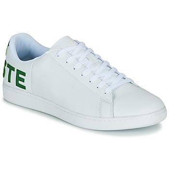 Schuhe Herren Sneaker Low Lacoste CARNABY EVO 120 7 US SMA Weiss / Grün