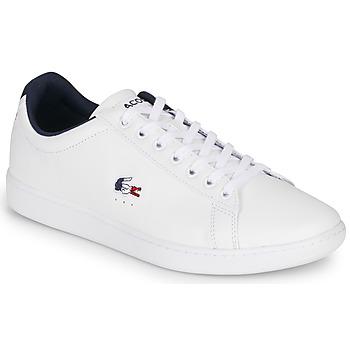 Schuhe Herren Sneaker Low Lacoste CARNABY EVO TRI1 SMA Weiss
