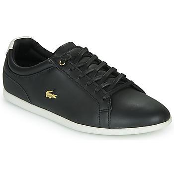 Schuhe Damen Sneaker Low Lacoste REY LACE 120 1 CFA Schwarz / Weiss