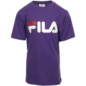 Kleidung Mädchen T-Shirts Fila Kids Classic Logo Tee