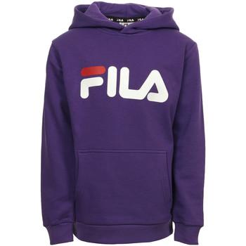 Kleidung Kinder Sweatshirts Fila Classic Logo Hood Kangaroo Kids