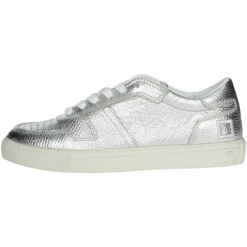 Schuhe Damen Sneaker Low Date E20-9 Silber