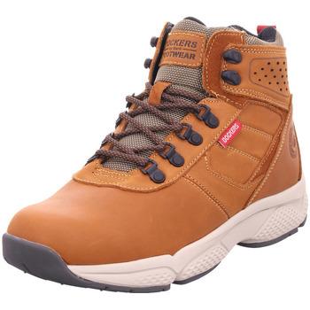 Schuhe Herren Stiefel Dockers - 45SN006-400 braun