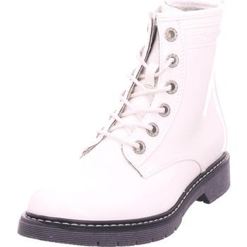 Schuhe Damen Stiefel Pep Step - 7992801 weiß