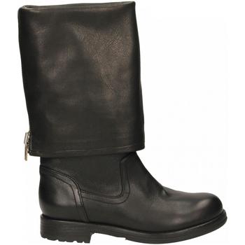 Schuhe Damen Klassische Stiefel Now SMART nero