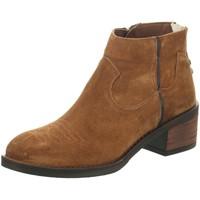 Schuhe Damen Stiefel Alpe Stiefeletten 4392 braun
