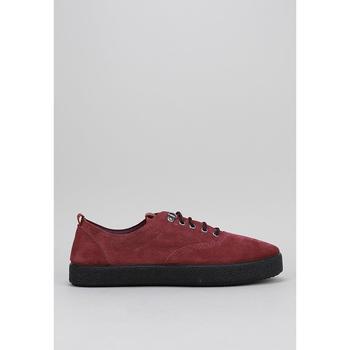 Schuhe Herren Sneaker Low Krack  Bordeaux
