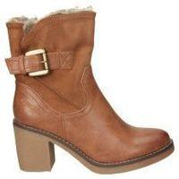Schuhe Damen Low Boots Chika 10 MARLEN 09 Marron