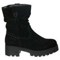 Schuhe Damen Low Boots Chika 10 LEONOR 08 Noir