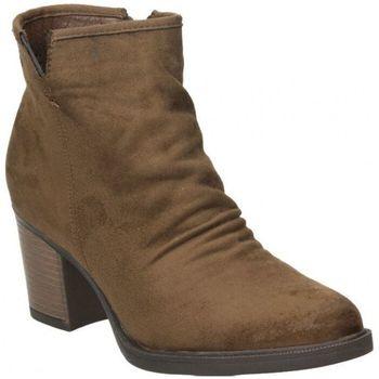 Schuhe Damen Low Boots Isteria 9227 Marron