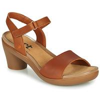 Schuhe Damen Sandalen / Sandaletten Art ALFAMA Braun