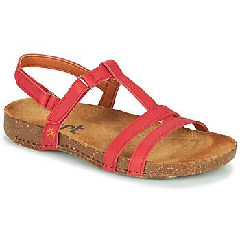 Schuhe Damen Sandalen / Sandaletten Art I BREATHE Rot