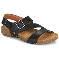 Schuhe Damen Sandalen / Sandaletten Art I BREATHE Schwarz