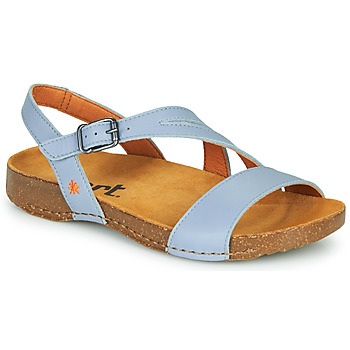 Schuhe Damen Sandalen / Sandaletten Art I BREATHE Blau