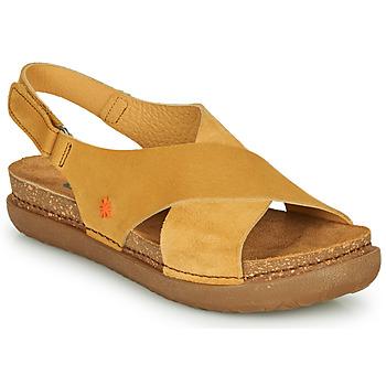 Schuhe Damen Sandalen / Sandaletten Art RHODES Senf