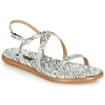 Schuhe Damen Sandalen / Sandaletten Neosens AURORA Weiss / Silbern