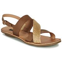 Schuhe Damen Sandalen / Sandaletten Neosens DAPHNI Braun / Beige