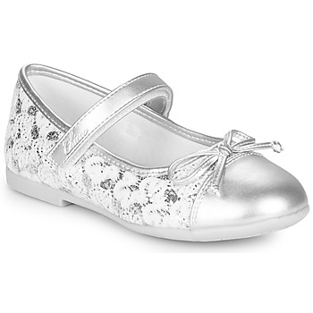 Schuhe Mädchen Ballerinas Chicco CLELIANA Silbern