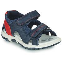 Schuhe Jungen Sportliche Sandalen Chicco FLORIAN Marine / Rot