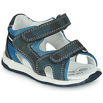 Schuhe Jungen Sportliche Sandalen Chicco GEREMIA Blau