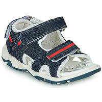 Schuhe Jungen Sportliche Sandalen Chicco COLBY Blau / Rot
