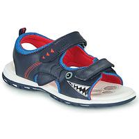 Schuhe Jungen Sportliche Sandalen Chicco CAIL Blau