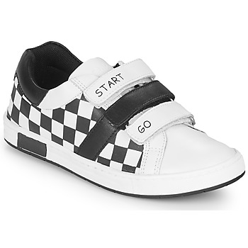 Schuhe Jungen Sneaker Low Chicco CANDITO Weiss / Schwarz