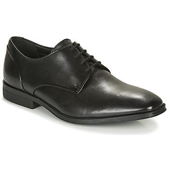 Schuhe Herren Derby-Schuhe Clarks GILMAN PLAIN Schwarz
