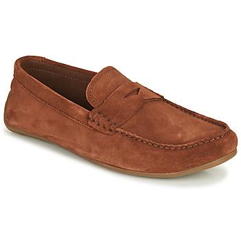 Schuhe Herren Slipper Clarks REAZOR PENNY Camel