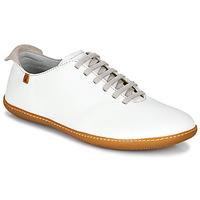 Schuhe Damen Sneaker Low El Naturalista EL VIAJERO Weiss