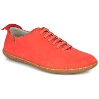 Schuhe Damen Sneaker Low El Naturalista EL VIAJERO Korallenrot