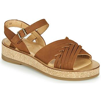 Schuhe Damen Sandalen / Sandaletten El Naturalista TÜLBEND Braun