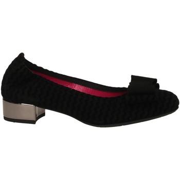 Schuhe Damen Ballerinas Le Babe CAMOSCIO nero