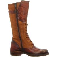 Schuhe Damen Stiefel Lazamani Stiefel 74.433 COGNAC braun