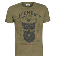 Kleidung Herren T-Shirts Casual Attitude MCOOL Kaki