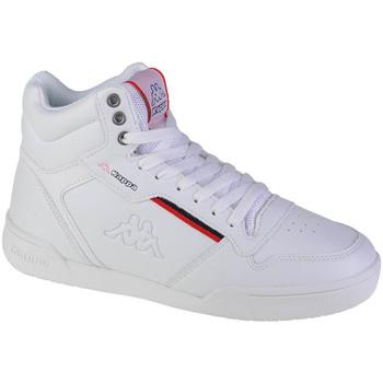 Schuhe Herren Sneaker High Kappa Mangan Weiss