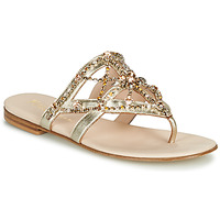 Schuhe Damen Zehensandalen Fru.it CAROTE Gold