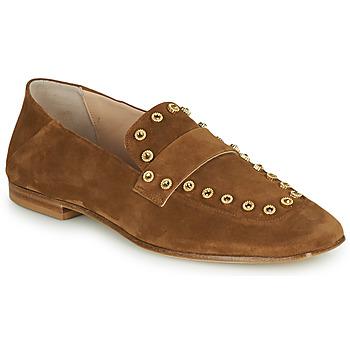 Schuhe Damen Slipper Fru.it LEVITA Braun