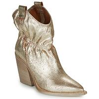 Schuhe Damen Low Boots Fru.it LOVITE Gold