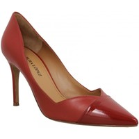 Schuhe Damen Pumps Pura Lopez 123935 Rot