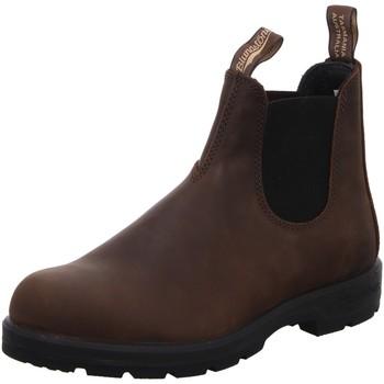 Schuhe Herren Stiefel Blundstone Chelsea Boot in Braun Antik 1609 braun