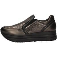 Schuhe Damen Slip on IgI&CO 41464/11 KOHLE