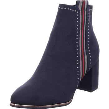 Schuhe Damen Stiefel Marco Tozzi Damen Stiefelette DK.NAVY COMB