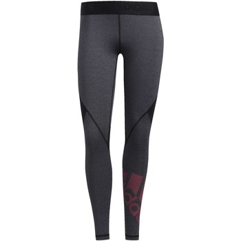 Kleidung Damen Leggings adidas Originals Alphaskin Badge of Sport Tight Schwarz