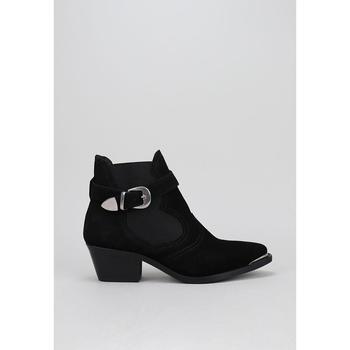 Schuhe Damen Low Boots Krack ETOSHA Schwarz