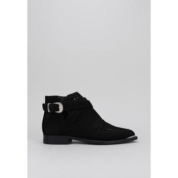 Schuhe Damen Boots Krack KANHA Schwarz