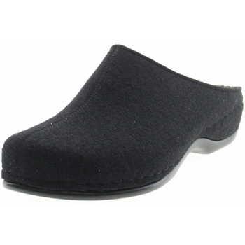Schuhe Damen Hausschuhe Berkemann Damen Hausschuh Schwarz